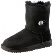 Ugg Australia Bailey Button Bling Stiefel Damen in schwarz, Größe: 38