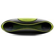 Boxa Portabila Energy Sistem Z220 ENS384518, Jack 3.5mm, FM Radio, slot Card SD (Negru/Verde)