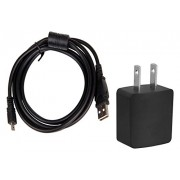 AC-UD11 Compatible AC Adapter/Charger + USB Cable for Sony DSC-W710, DSC-W800 , DSC-W830, DSC-W170, Cyber-Shot Digital Camera