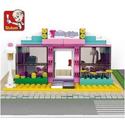 NEW launched Sluban Building Block Girl's Dream of Beauty Salon Hair Salon -243pcs Toy Gift