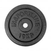 Стоманен диск inSPORTline 10kg