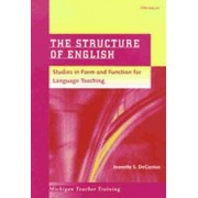The Structure of English by Jeanette S. DeCarrico
