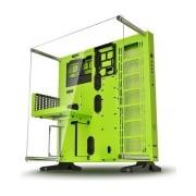 Gabinete Thermaltake Core P5 Green Edition con Ventana, Midi-Tower, Micro-ATX/Mini-ATX, USB 2.0/3.0, sin Fuente, Verde
