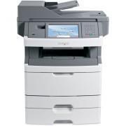 Imprimanta Multifunctionala laser monocrom Lexmark x466de 34S7904 (cartus incarcat 100% + cilindru nou) + tava suplimentara bonus (cartus 15000 pagini), ambalaj original