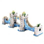 """sterxy 19 299 396 449 031,9 cm Mini Kit de construction Woodcraft DIY modèle """"3D Puzzle en bois Tower Bridge"""