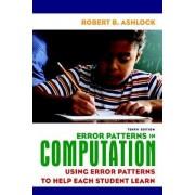 Error Patterns in Computation by Robert B. Ashlock