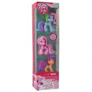 My Little Pony Ponyville Rainbow Dash Pinkie Pie and Scootaloo Figures