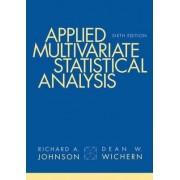 Applied Multivariate Statistical Analysis by Richard Johnson