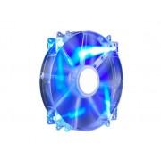 Ventilator carcasa COOLER MASTER MegaFlow 200mm, conector 3-pin, LED albastru (R4-LUS-07AB-GP)