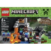 Lego Minecraft Toys Premium Educational Sets Creationary Game With Minifigures For 8 Year Olds Childrens Cave Box