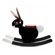 Playsam - Rocking Rabbit, schwarz