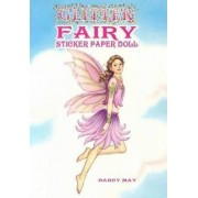 Glitter Fairy Sticker Paper Doll by Darcy May