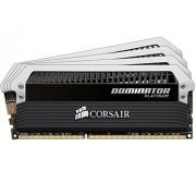 Corsair CMD16GX3M4A1866C9 Dominator Platinum Memoria per Desktop di Livello Enthusiast da 16 GB (4x4 GB), DDR3, 1866 MHz, CL9
