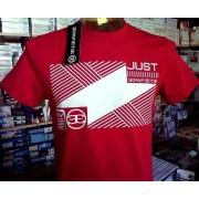 Papeete T-shirt uomo Papeete manica corta in cotone con stampa logo
