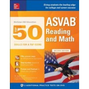McGraw-Hill Education Top 50 Skills for a Top Score: ASVAB Reading and Math with DVD, Second Edition