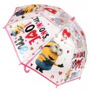 Umbrela fete Minions ,roz