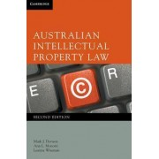 Australian Intellectual Property Law by Mark Davison