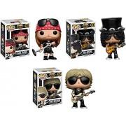 Pop! Rocks: Guns N Roses Axl Rose, guitarist Slash, and bassist Duff McKagan! Set of 3