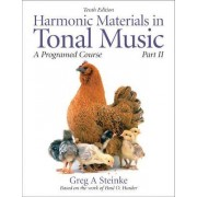 Harmonic Materials in Tonal Music: Pt. 2 by Greg A. Steinke