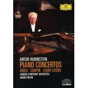 Artur Rubinstein, London Symphony Orchestra - Piano Concertos: Grieg, Chopin, Saint-Saens (0044007341957) (1 DVD)