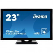 "Monitor touchscreen iiyama ProLite T2336MSC, 23"", blue light reducer, negru"