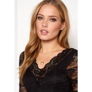 NORR by Erbs New Moon Necklace Gold One size