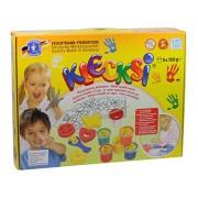 Creative Box Klecksi dedo pintura, 18 piezas - juguetes Feuchtmann 6336508