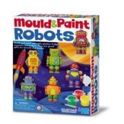 Mould & Paint -Roboter / Gips-Set