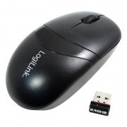 Mouse wireless Logilink ID0069 2.4 GHz Black