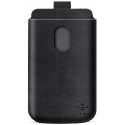 Husa pouch Belkin Pocket F8M573VFC00 neagra pentru telefon HTC One (M7)