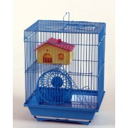 Max H220 Klec modrá pro křečka myš klec na hlodavce 300x230x380mm