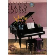 Alfred's Basic Adult Piano Course Lesson Book, Bk 1 by Amanda V Lethco