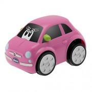 Chicco - Coche Turbo Touch Fiat 500, color rosa (00007331100000)