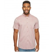 Billabong All Day Oxford Short Sleeve Woven Top Fig