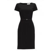 HUGO BOSS Dilya kokerjurk in zwart