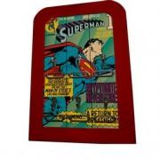Porta Chaves Madeira Super Homem Quadrinhos HQ Vintage DC Comics Porta Chaves Super Homem Madeira Quadrinhos HQ Vintage DC Comics