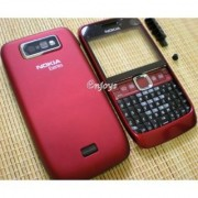 TOTTA Replacement Full Body Housing Back, Body Panel For Nokia E63 -Red