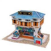 Cubicfun 3D Puzzle - Turkiye Flavor Ceramics Shop- W3111H