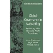 Global Governance in Accounting by Jochen Zimmermann