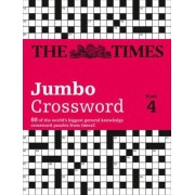 Times 2 Jumbo Crossword Book 4 by The Times Mind Games