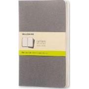 Moleskine Pebble Grey Plain Cahier Large Journal by Moleskine