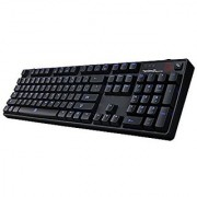 Tt eSPORTS Poseidon Z Plus Mechanical Gaming Keyboard with Blue Switches Full Blue LED Backlit Gaming Performance Monitoring Smart App 5 Years Warranty (KB-PZP-KLBLUS-01)
