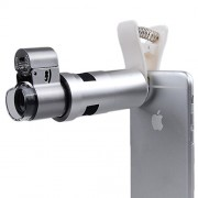 Apexel 200X Optical Zoom No Vignetting Microscope with Led Lamp + Universal Clip for iPhone6/6plus 6/6s Plus SE Samsung Galaxy S7/S7 Edge S6/S6 Edge Note5/4 etc