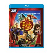 The Book of Life:Channing Tatum, Ron Perlman, Zoe Saldana - Cartea vietii (Blu-ray 2D si Blu-ray 3D)