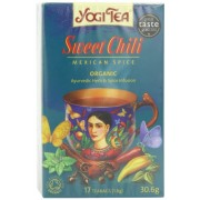 Yogi Tea Sweet Chili 17 Bags (Pack of 6, total of 102 teabags)