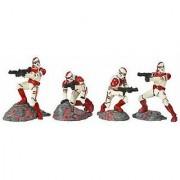 Star Wars Unleashed Battle 4 Pack Shock Trooper Pack