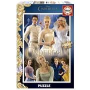 """Educa - 16329-pezzo classico """"Cenerentola"""" Puzzle 500 pezzi sullo schermo"""