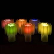 Lampe EMOTIONS à poser ou à suspendre - six filtres de couleur inclus - déco et design
