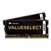 Memoire RAM Corsair Value Select SO-DIMM DDR4 8 Go (2 x 4 Go) 2133 MHz CL15 - Kit Dual Channel RAM DDR4 PC4-17000 - CMSO8GX4M2A2133C15