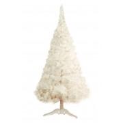 Bela Novogodišnja jelka 180 cm